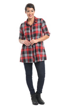 Catherine in Multi Flannel