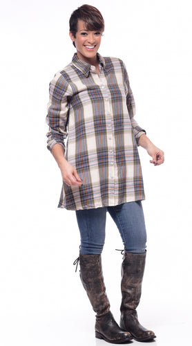 Petulia in Middleton Flannel Plaid