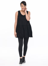 Moana Tank in Black