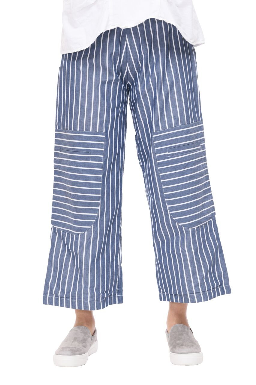 Big Pocket Pant in Nantucket Stripe