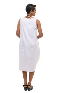 Cora Dress in White