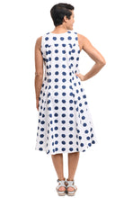 Poppie Dress in Big Dot