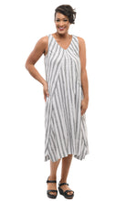 Folly Dress in Dickinson Stripe
