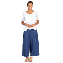 Portia Pant in Navy by Snapdragon & Twig (cotton)
