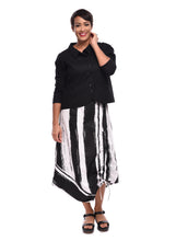 Ainsley Skirt in Taper Stripe by Snapdragon & Twig
