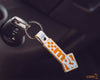 m52 Classic Leather Keyring - mountune52