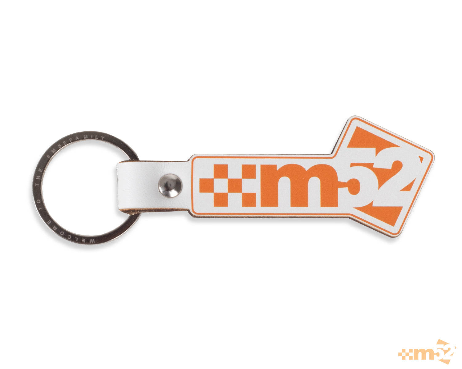 m52 Classic Leather Keyring