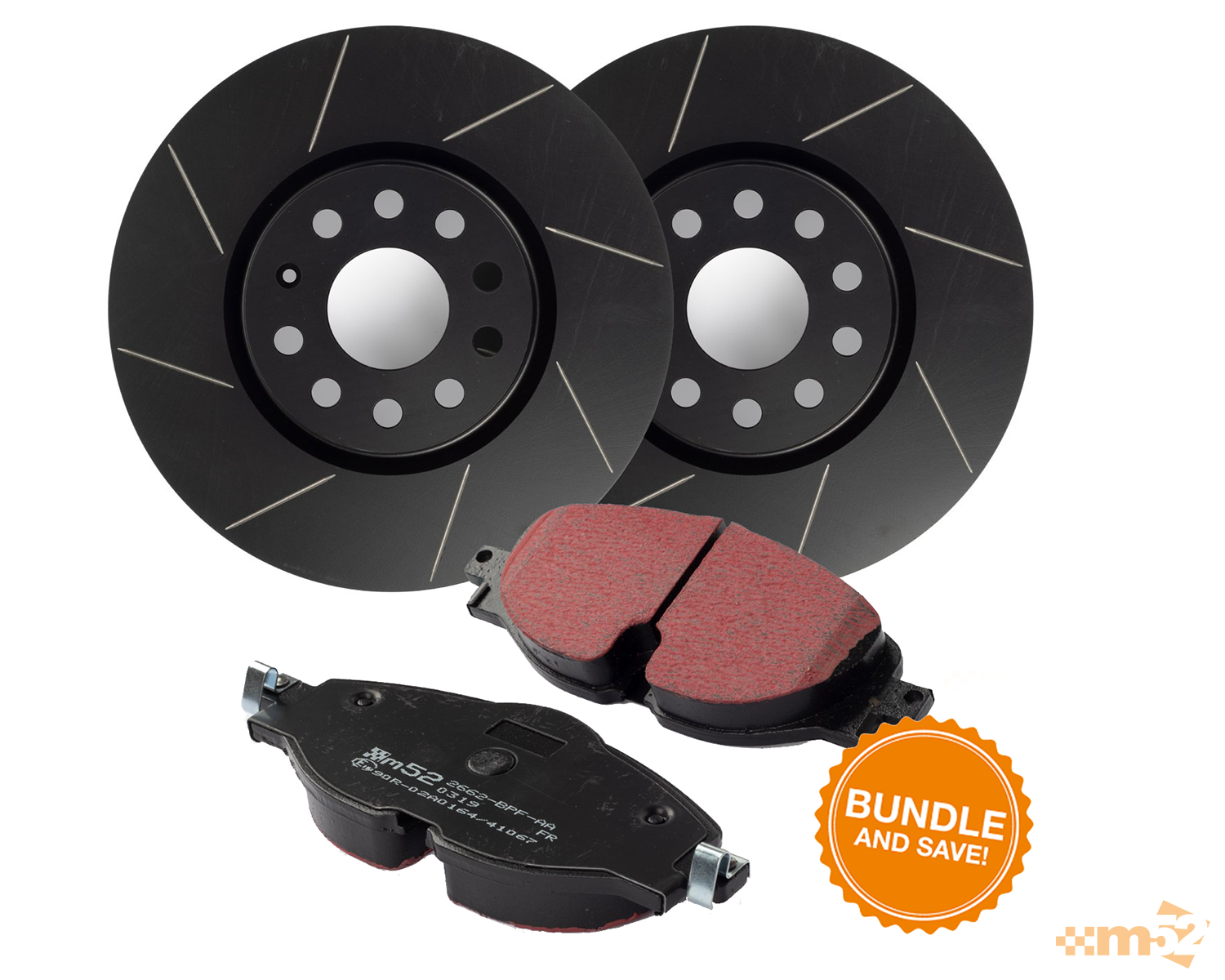 BUNDLE DEAL - GOLF GTI DISCS AND PADS