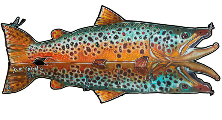 Fish Decals by Derek DeYoung
