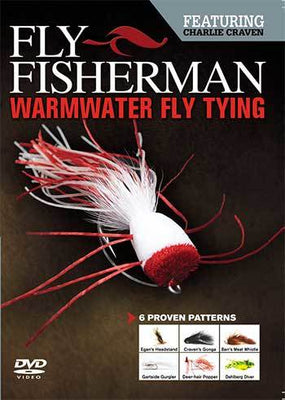 Warmwater Fly Tying Featuring Charlie Craven (DVD)