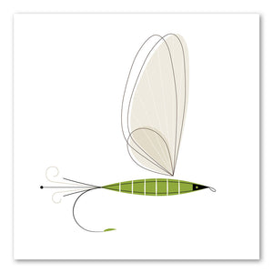 """The Green Drake"" by Jerry Tanner, The Modern Fly Series"