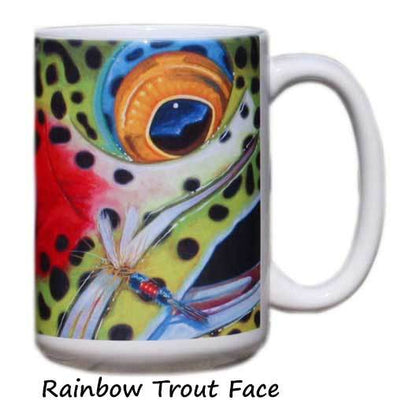 Face Series Mugs - DeYoung Fine Art