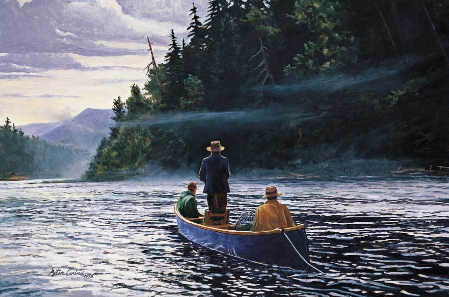 """The Blue Canoe"" by Peter Corbin"