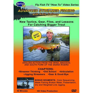 """Advanced Streamer Fishing with Kelly Galloup"" DVD"