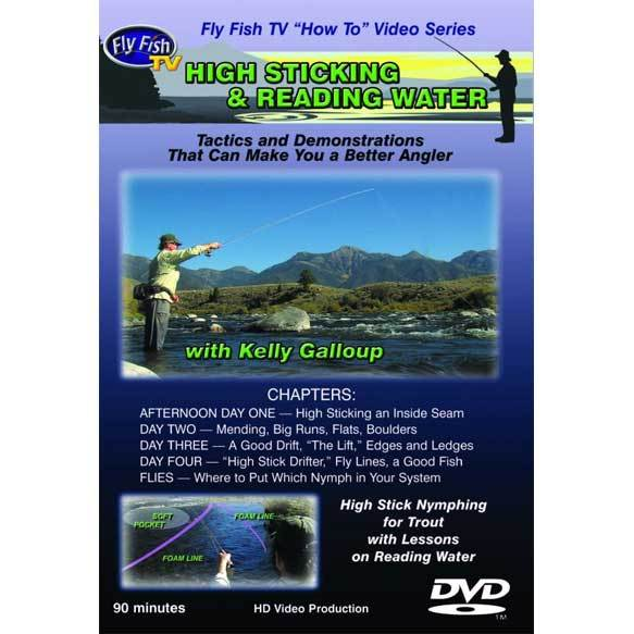 """High Sticking and Reading Water: Nymphing Tactics for Trout"" DVD"