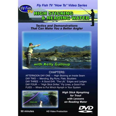 High Sticking and Reading Water: Nymphing Tactics for Trout (DVD)