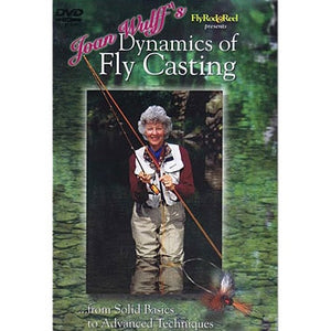 """Joan Wulff's Dynamics of Fly Casting"" DVD"