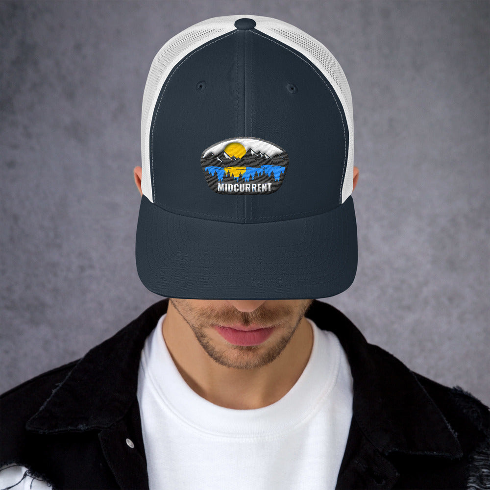 MIDCURRENT Low Rise Trucker Cap