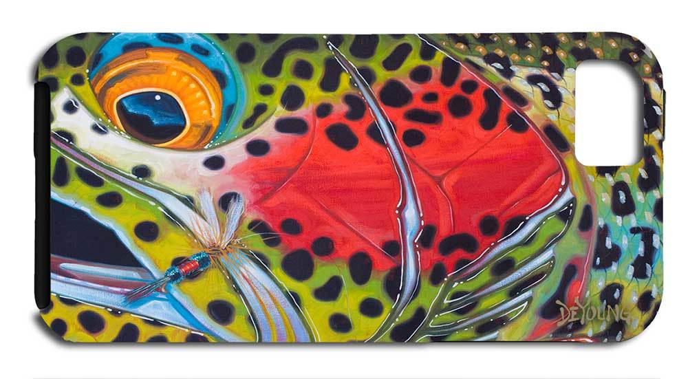 """iPhone 7 Tough Case - Rainbow Trout"" by Derek DeYoung"