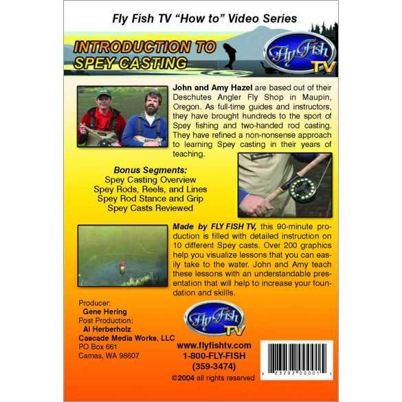 """Introduction to Spey Casting"" DVD"
