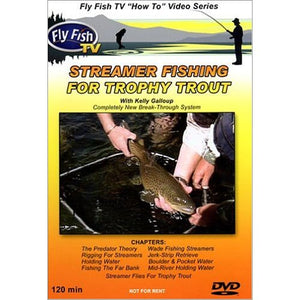 """Streamer Fishing for Trophy Trout"" DVD"