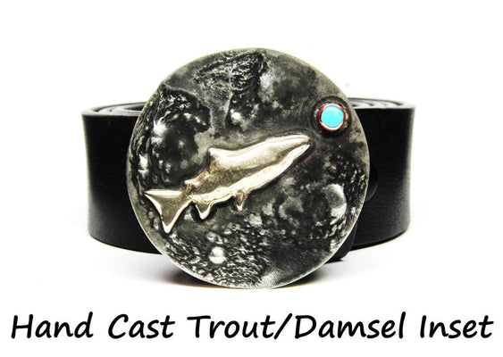 Hand Crafted Artisan Fish Buckle by Mark Goodwin
