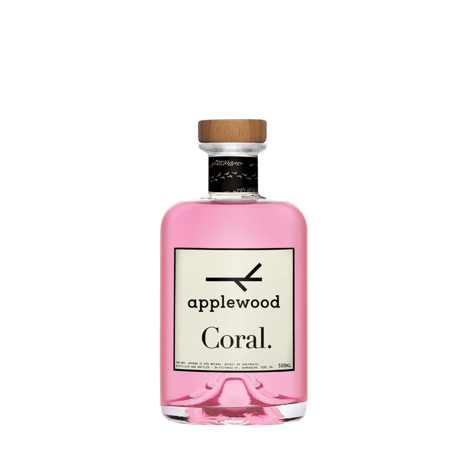 Applewood Coral Pink Gin