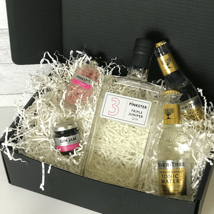 Pinkster Triple Juniper Gin Jam Tonic Gift Set