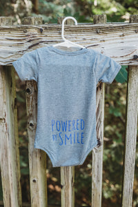 BABY TRIBLEND SHORT SLEEVE ONE PIECE - Grey