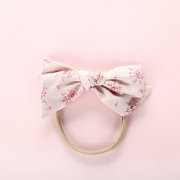 Yukata Bow Headband - Bloom