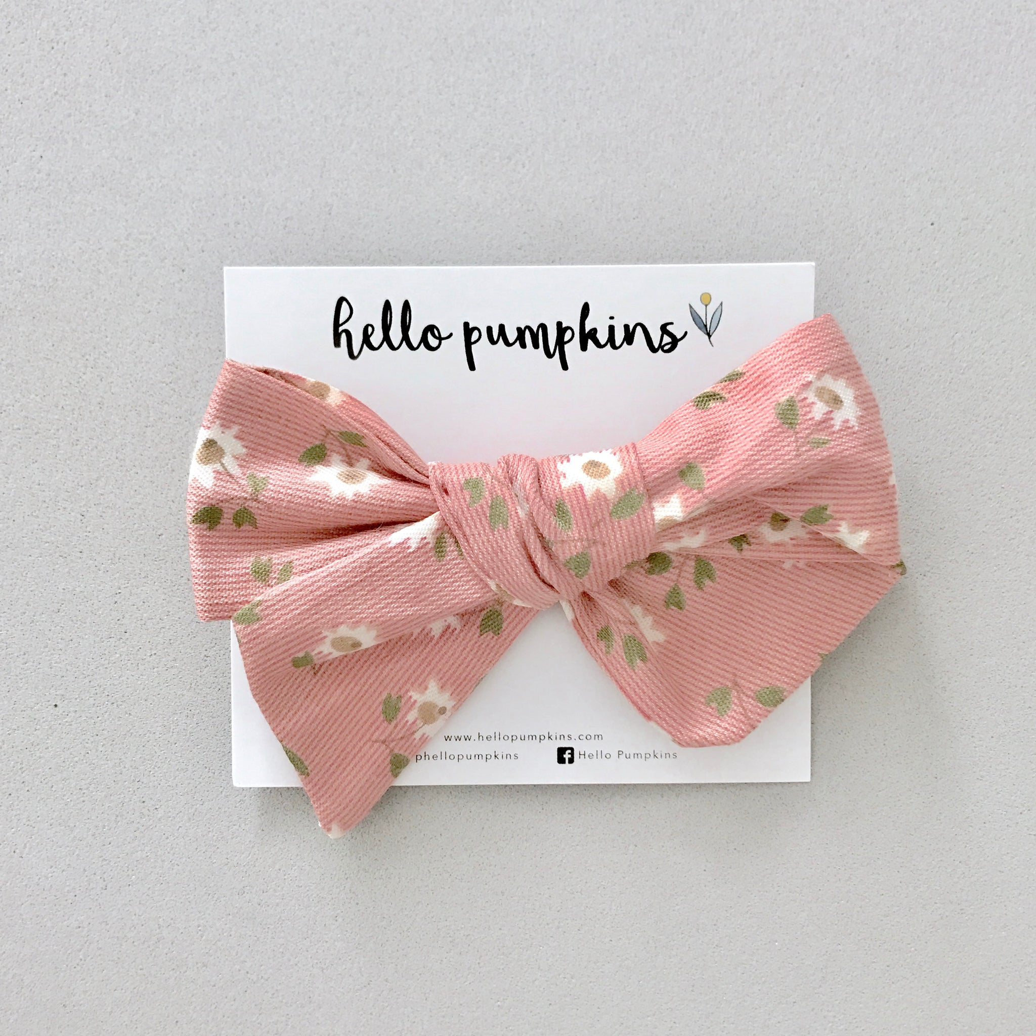 Daisy Dream Bow Headband - Ginger