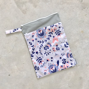 Large wet bags - Whimsical Florals