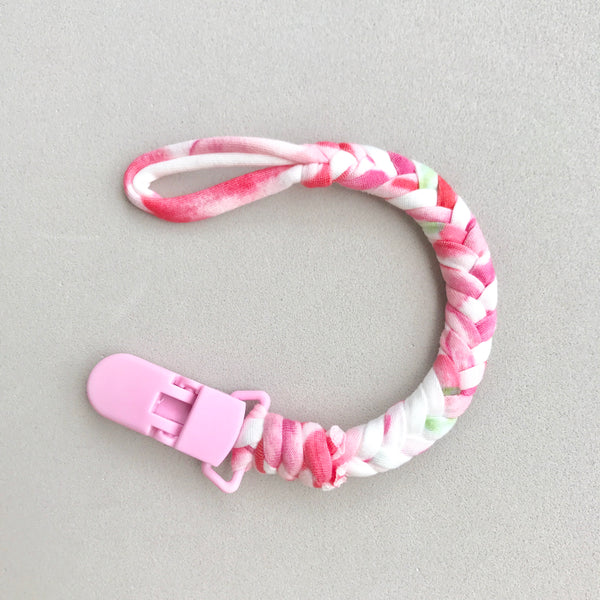 Pacifier Clip - Flamingo
