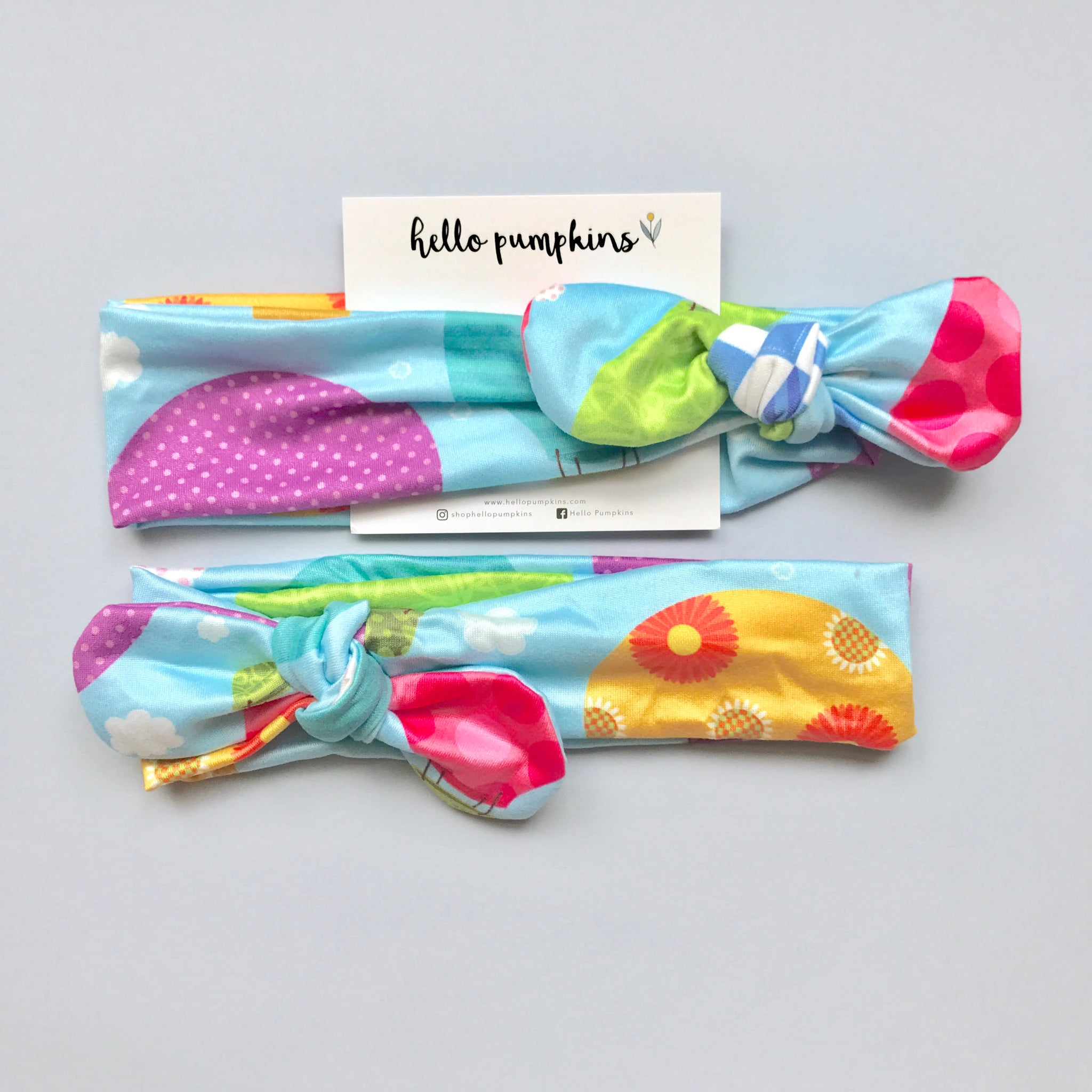 Mousey Knot Headband - Hot Air Balloon