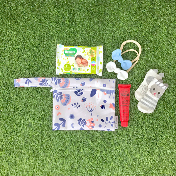 Wet bags - Whimsical Florals set
