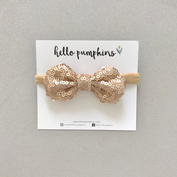 Mini Sequin Bow Headband Set - Full Party