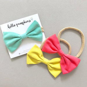 Classic Bow - Cheery Set