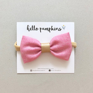 Dress Up Bow Headband - Pink