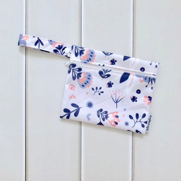 Mini Wet Bag - Whimsical Florals