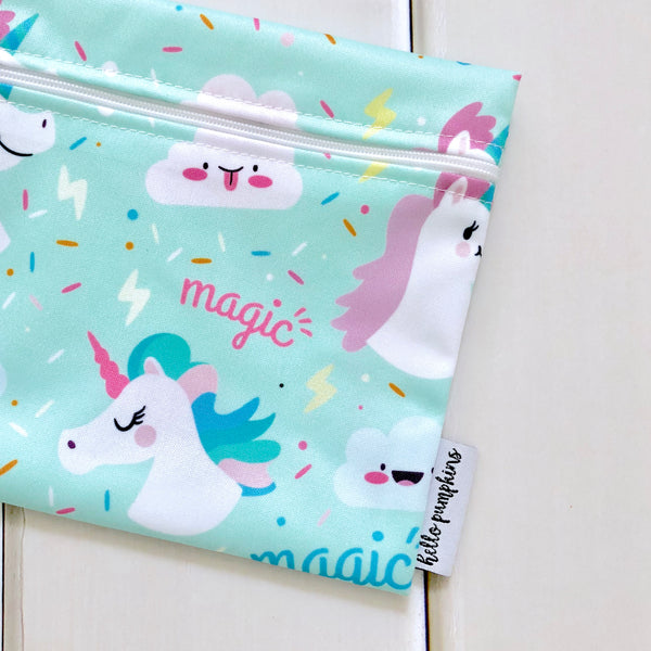 Mini Wet Bag - Unicorn Dream
