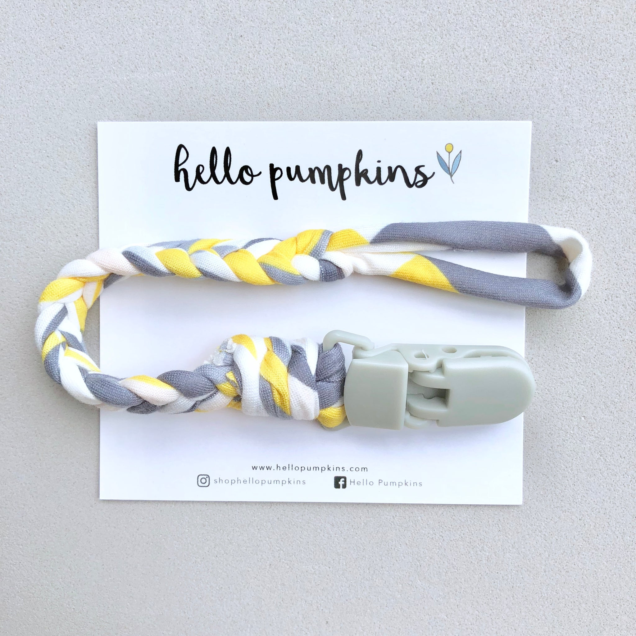 Pacifier Clip - Hello Sunshine