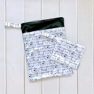 Wet bags - Kitty set