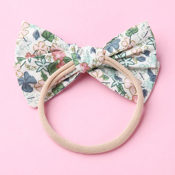 Flower Sketches Bow Headband