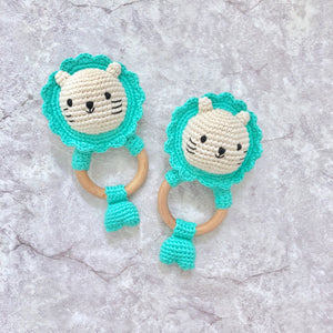 Baby Merlion Rattle - Sea Green