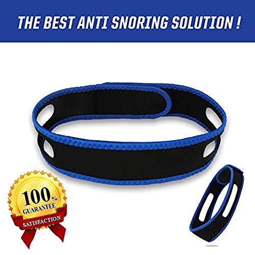 Anti-snoring chin with male and female adult anti-snoring belt health anti-snoring head belt anti-snoring chin dislocation belt
