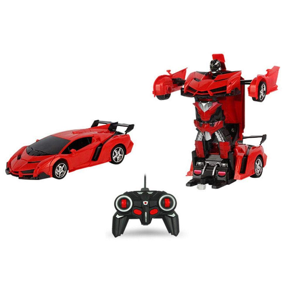 Gesture sensing deformation toy King Kong children's toy remote control car deformation robot electric remote control car