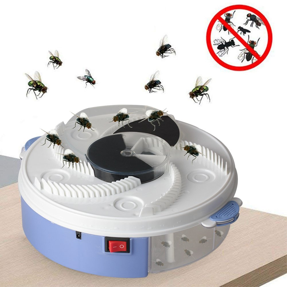 (Buy two free shipping)Automatic flycatcher USB electric fly trap artifact