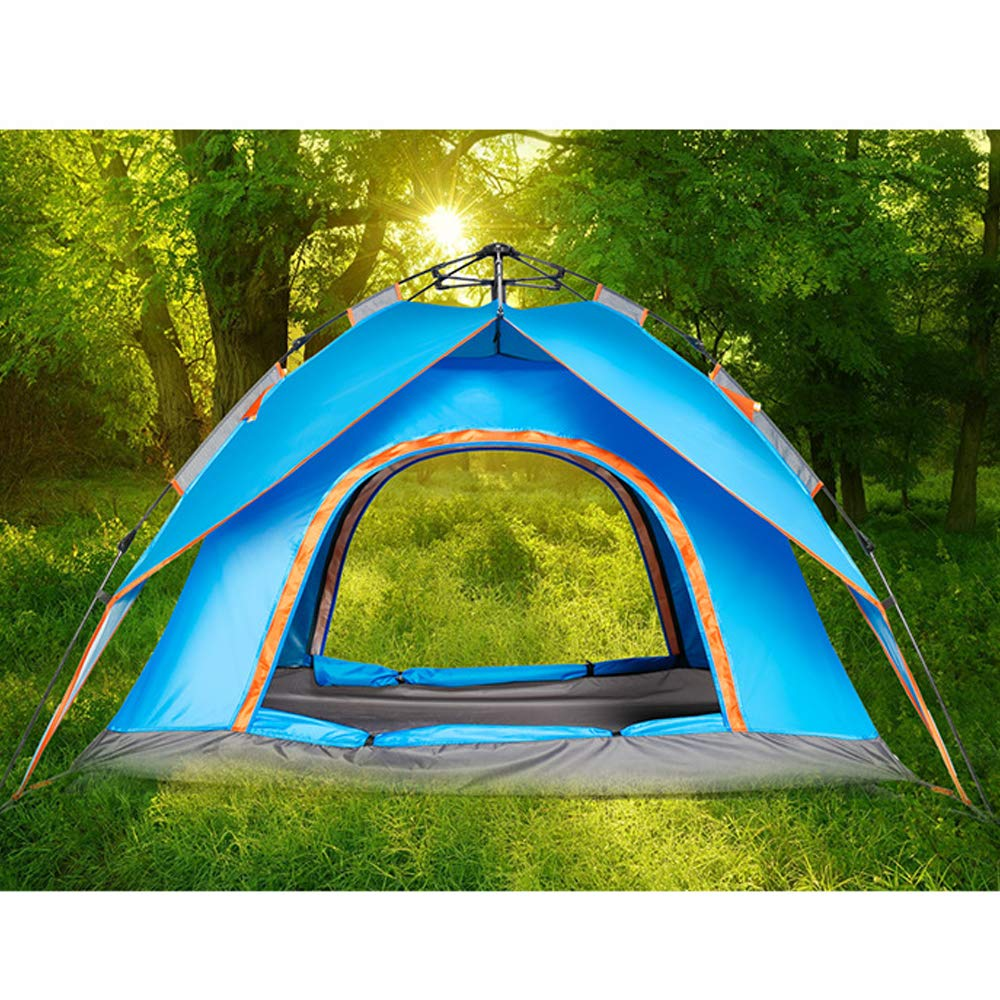 Outdoor tourism double-layer automatic tent camping camping double multi-person spring tent