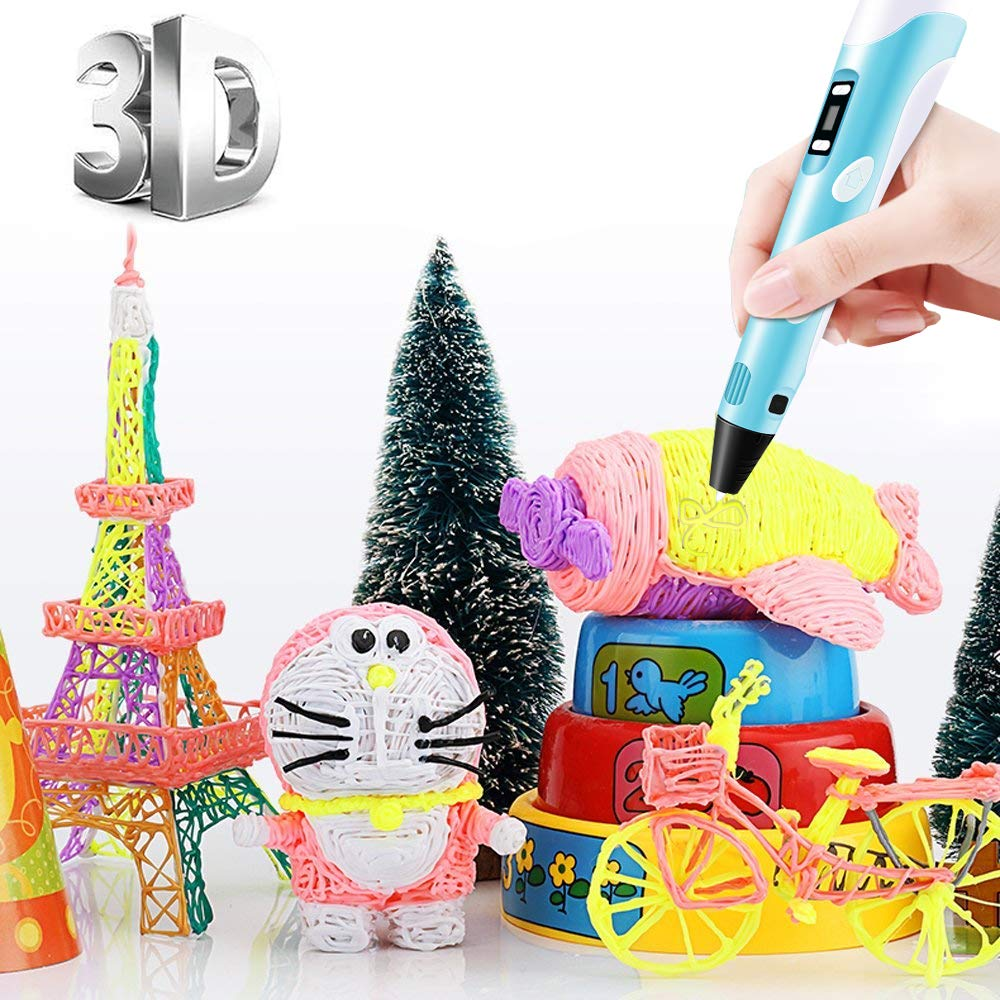 Second generation 3d printing pen Three-dimensional painting Children's puzzle DIY manual