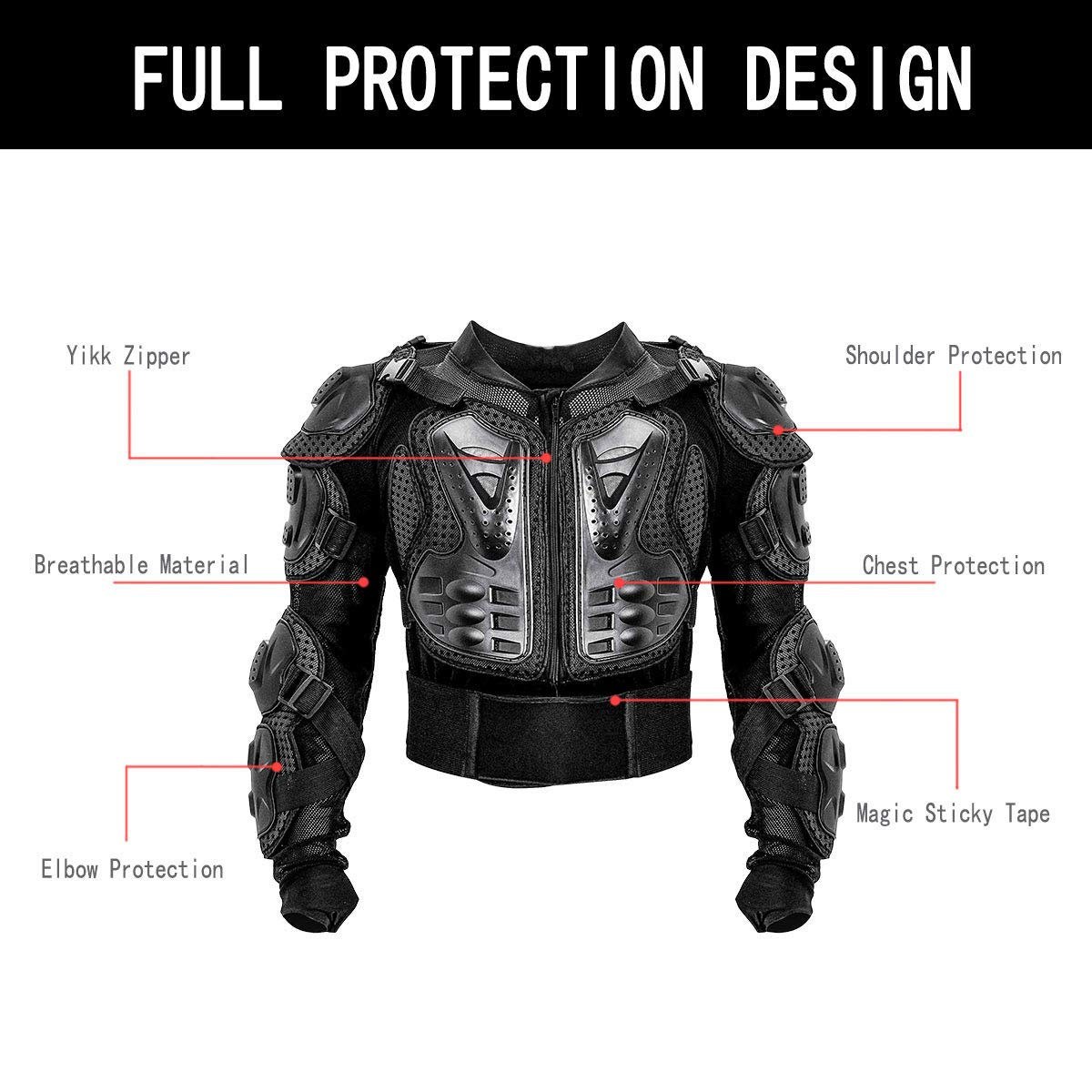 Off-road motorcycle armor clothing Custom Knight armor suit Outdoor sports racing suit